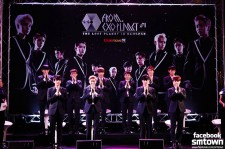 EXO as ten members at press conference for The Lost Planet In Bangkok.