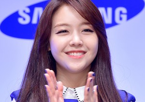 Girl's Day Minah at a Press Conference for Samsung Web Drama 'The Best Future'
