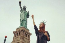 seohyun statue of liberty