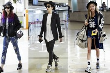 A Look At Celebrities' Airport Fashion Styles