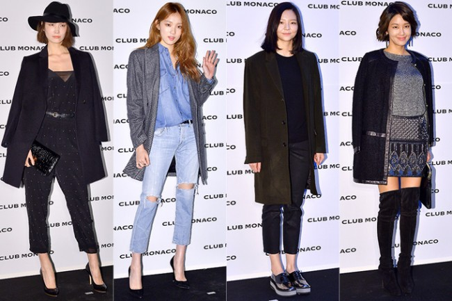 Song Kyung Ah, Lee Sung Kyung, Esom and Hwang So Hee at Club Monaco Opening Party key=>0 count33