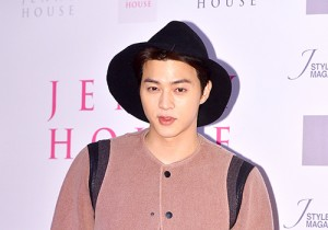 Kim Ji Hoon Attends Jenny House Primo Point Open Party