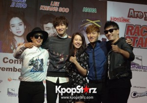 Running Man Members Attends Race Start Season 2 Press Conference in Malaysia - Nov 01, 2014 [PHOTOS]