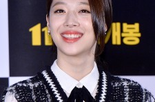 f(x)'s Sulli at a Press Conference of Upcoming Movie 'Fashion King'