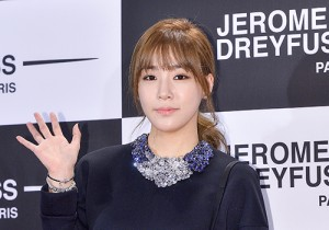 Girls Generation[SNSD] Tiffany Attend Jerome Dreyfuss Flagship Store Opening Party