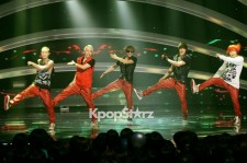Big Star's Debut Performance of 'Hot Boy' at 'M! Countdown' on July 12, 2012