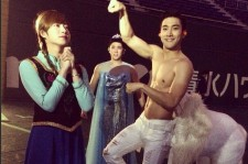Heechul, Kangin and Siwon