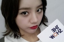 hyeri red lips