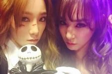 Taeyeon Tiffany 2014 SMTown Halloween Party