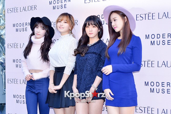 Rainbow at Estée Lauder 'Modern Muse' Pop-up Store Opening Event key=>0 count13