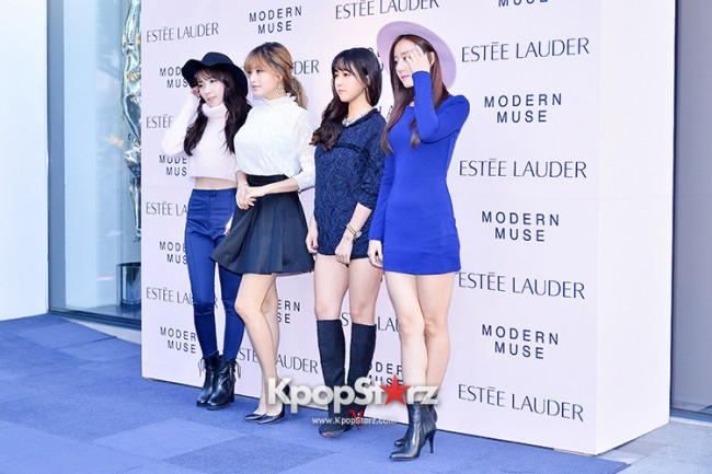 Rainbow at Estée Lauder 'Modern Muse' Pop-up Store Opening Event key=>6 count13