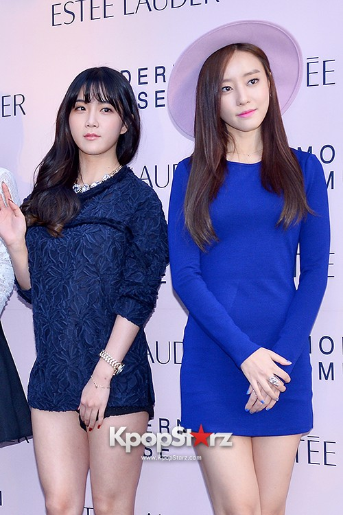 Rainbow at Estée Lauder 'Modern Muse' Pop-up Store Opening Event key=>11 count13