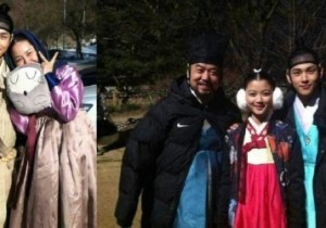 'Moon That Embraces The Sun' Yim Siwan With His Family