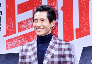 Shin Ha Kyoon Attends the Press Conference of Upcoming Film 'Big Match' at CGV