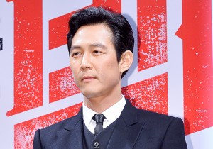 Lee Jung Jae Attends the Press Conference of Upcoming Film 'Big Match' at CGV