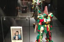 Gundam figure colored by 2NE1's Minzy