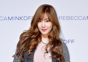 Girls Generation[SNSD] Tiffany at the Rebecca Minkoff 2015 SS Fashion Show