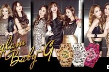 Girl's Generation x Baby-G