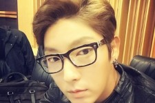 lee jun ki selfie in glasses