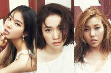 The surviving members of Ladies' Code are back in their dorm.