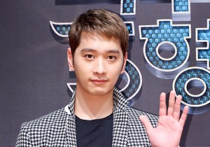 2PM's Chansung Attends a Press Conference of Upcoming Film '5 Deoksuri Brothers'