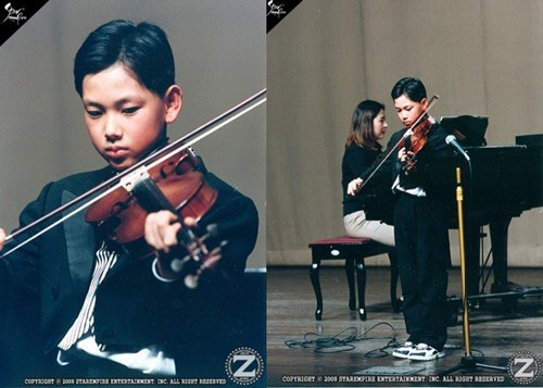 ZE:A Im Si Wan's Past Photos Playing The Violin Becomes An Issuekey=>0 count1