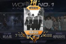 Epik High wins on 'M! Countdown' for the third time
