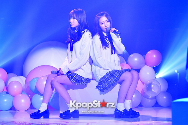 Woollim Entertainment's New Girl Group Lovelyz Attends the Debut Showcase (Performance)key=>1 count40