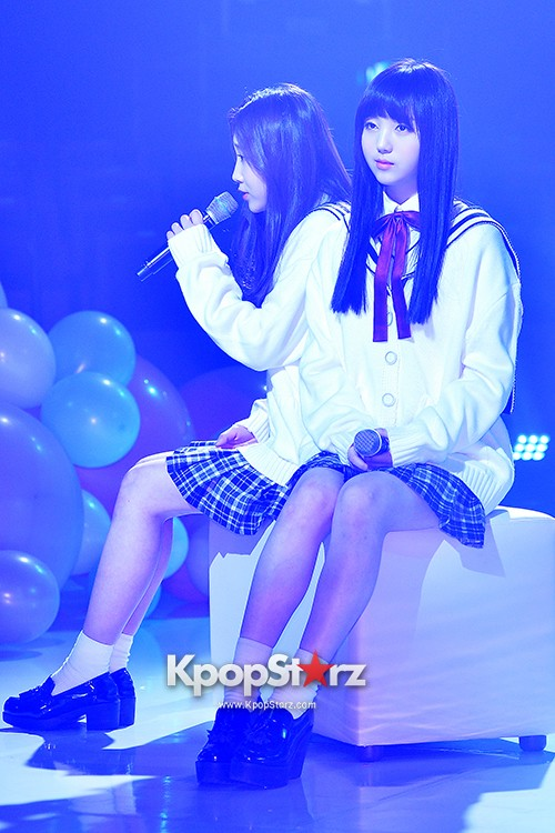 Woollim Entertainment's New Girl Group Lovelyz Attends the Debut Showcase (Performance)key=>5 count40