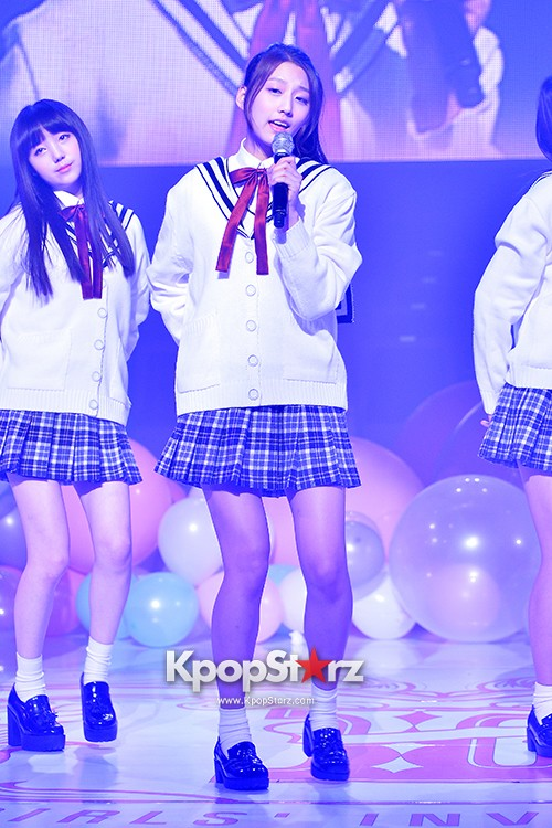 Woollim Entertainment's New Girl Group Lovelyz Attends the Debut Showcase (Performance)key=>7 count40