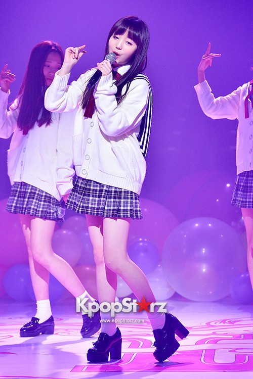 Woollim Entertainment's New Girl Group Lovelyz Attends the Debut Showcase (Performance)key=>12 count40