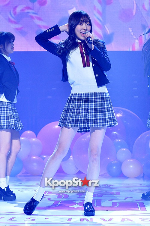Woollim Entertainment's New Girl Group Lovelyz Attends the Debut Showcase (Performance)key=>18 count40