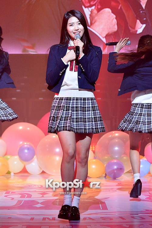 Woollim Entertainment's New Girl Group Lovelyz Attends the Debut Showcase (Performance)key=>23 count40