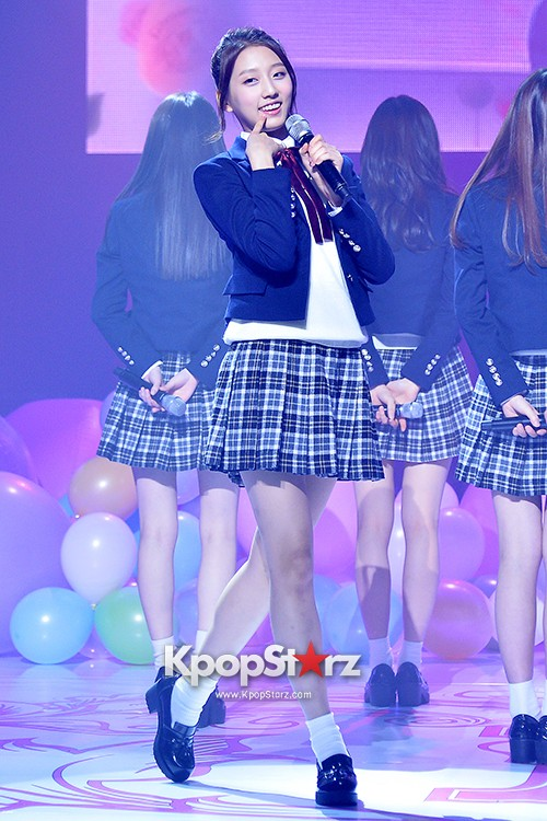 Woollim Entertainment's New Girl Group Lovelyz Attends the Debut Showcase (Performance)key=>25 count40