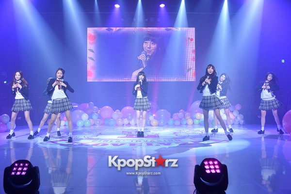 Woollim Entertainment's New Girl Group Lovelyz Attends the Debut Showcase (Performance)key=>26 count40