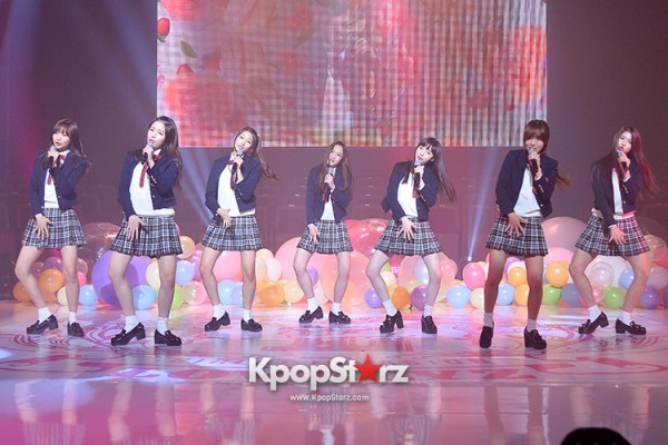 Woollim Entertainment's New Girl Group Lovelyz Attends the Debut Showcase (Performance)key=>33 count40