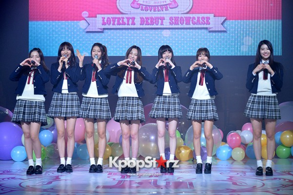 Woollim Entertainment's New Girl Group Lovelyz Attends the Debut Showcase (Performance)key=>37 count40