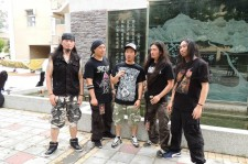 Korea's first death metal band, Seed.