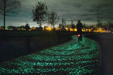 Glow-In-The-Dark Van Gogh Bike Path Opens In The Netherlands