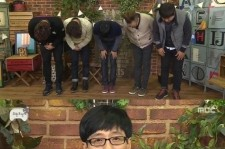 infinite challenge apologizes for no hong chul