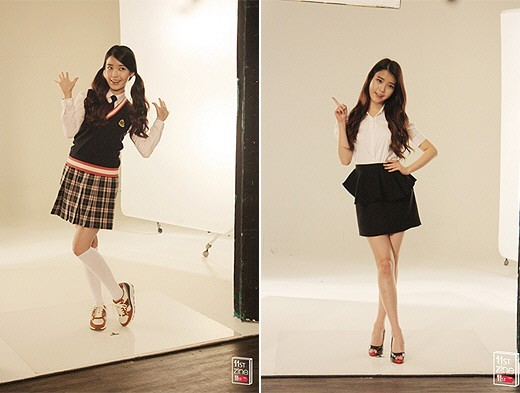 IU, Filming For Ad 'The Shirt is Too Big On Me'key=>1 count2