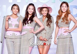 SISTAR Attends MBC Music 2014 MelOn Music Awards