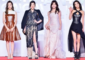 Kim Ye Rim, Lyn, Chun Ee Seul and Han Go Eun Attend MBC Music 2014 MelOn Music Awards