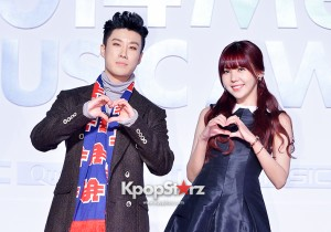 San E and Raina Attend MBC Music 2014 MelOn Music Awards