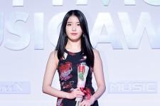 IU Attends MBC Music 2014 MelOn Music Awards
