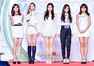 A Pink Attends MBC Music 2014 MelOn Music Awards