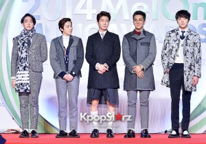 WINNER Attend MBC Music 2014 MelOn Music Awards