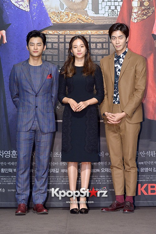 Press Conference of KBS 2TV's Drama 'The King Face' key=>16 count36