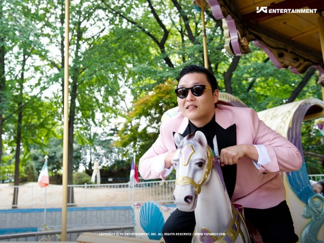 Psy Ranks Higher Than Eminem On the Music Chart
