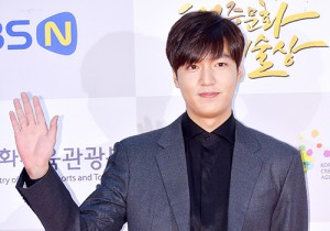 Lee Min Ho Attends 2014 Republic of Korea Pop Culture Art Awards Ceremony Red Carpet